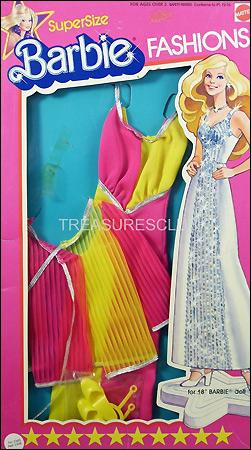 Одежда для куклы Барби Supersize Barbie аутфит фирменный