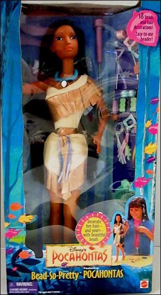 Большая кукла Покахонтас Bead So Pretty Pocahontas