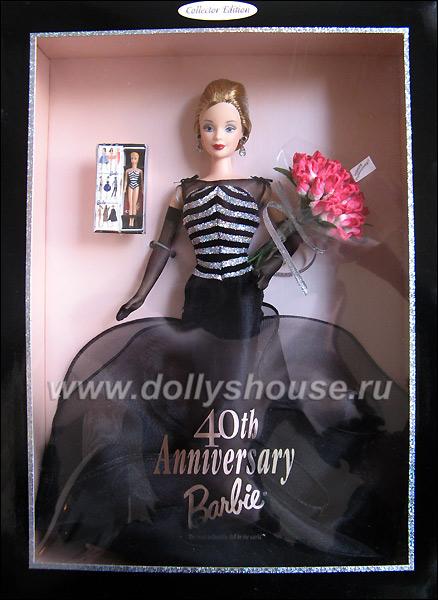 Коллекционная кукла 40th Anniversary Barbie