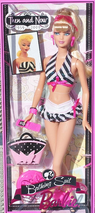 Кукла Bathing Suit Barbie Then and Now