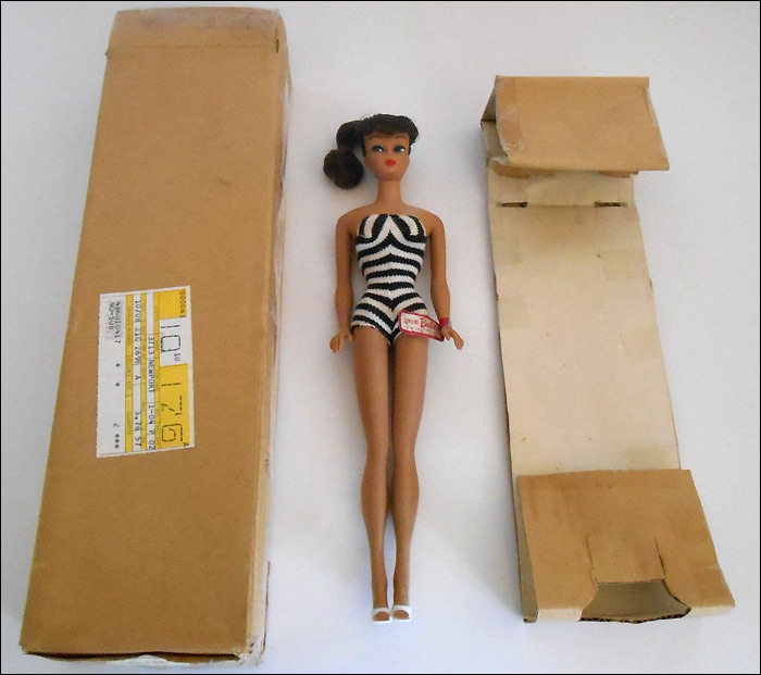 1972 Montgomery Ward Barbie первая репро-Барби