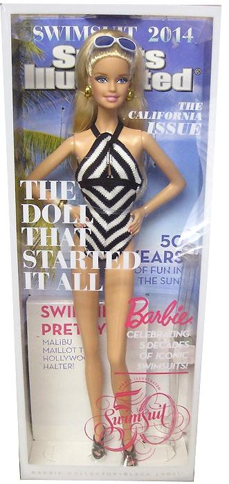 Коллекционная кукла Барби Sports Illustrated Barbie 2014 живое фото