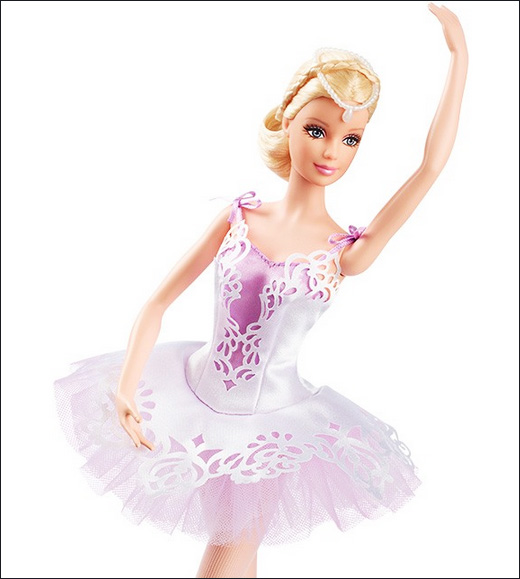Коллекционная Барби Ballet Wishes 2015