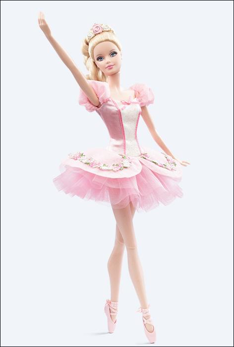 Вторая Барби-балерина коллекции Ballet Wishes Barbie (2014)