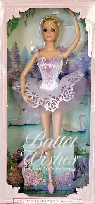 Коллекционная кукла Барби-балерина Ballet Wishes 2015 Балетные Пожелания