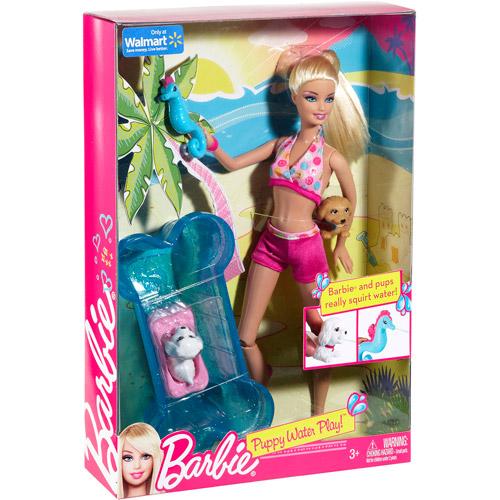 Игровой сет Barbie Puppy Water Play 2015