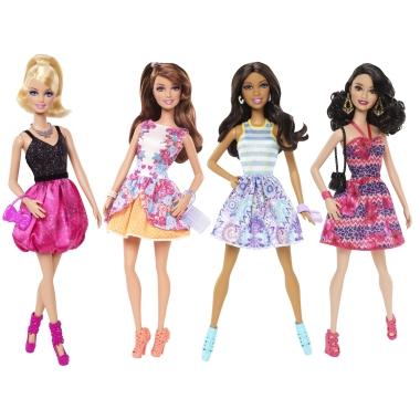 Игровые куклы Барби 2015 Fashionistas Gift Set