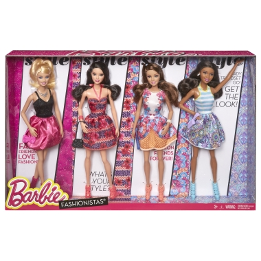 Модные Штучки. BARBIE® & Friends Fashionistas 2015