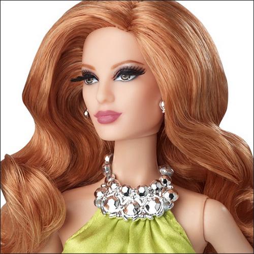 Коллекционная кукла Барби The Red Carpet Barbie Yellow Gown 2014