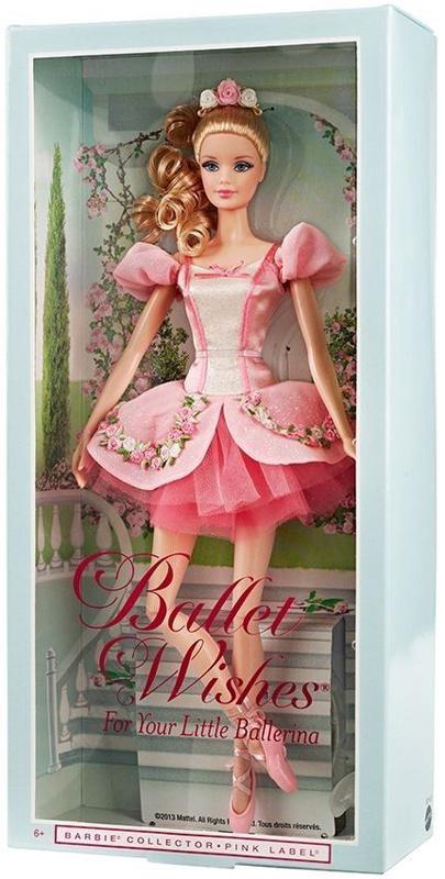 Коллекционная кукла Барби 2014 Ballet Wishes Балетные Пожелания
