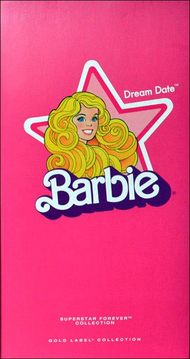 Упаковка коллекционной Барби Dream Date Barbie