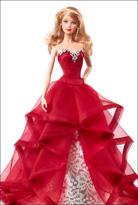 Holiday Barbie 2015: Барби празднует Новый Год