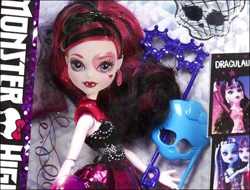 Новые лица кукол Monster High