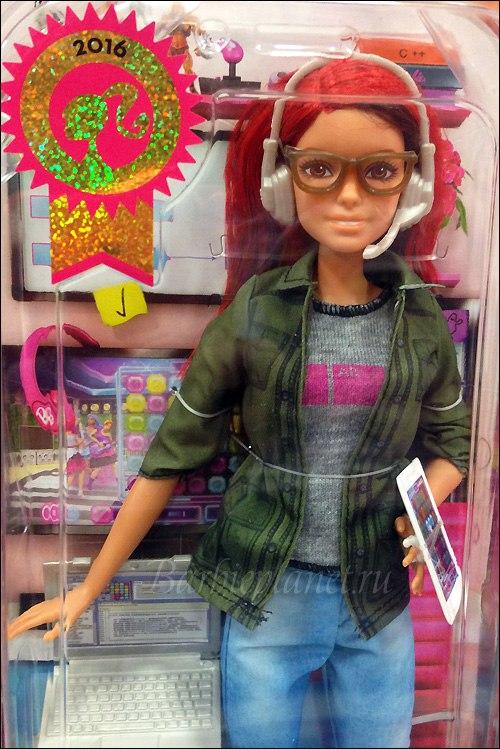 Живые фото Барби разработчика игр
